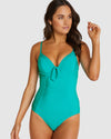 GLIMMER RUCHED BOOSTER ONE PIECE