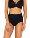 ECO ESSENTIALS RUCHED ULTRA HIGH WAIST BIKINI PANT