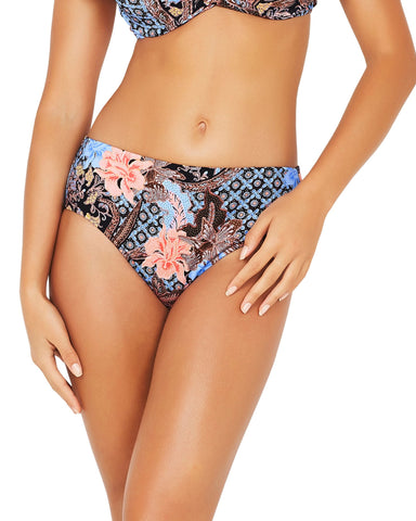 BOARDWALK ROLL TOP BOYLEG BIKINI PANT