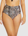 ANIMALIA ULTRA HIGH WAIST BIKINI PANT
