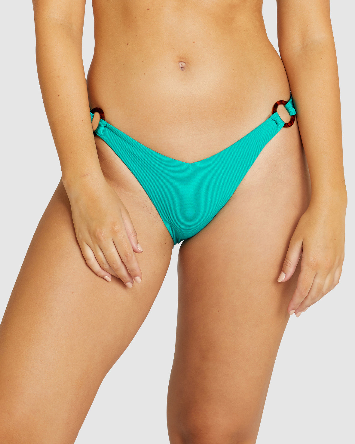 GLIMMER SOFT RING SIDE HIPSTER BIKINI PANT