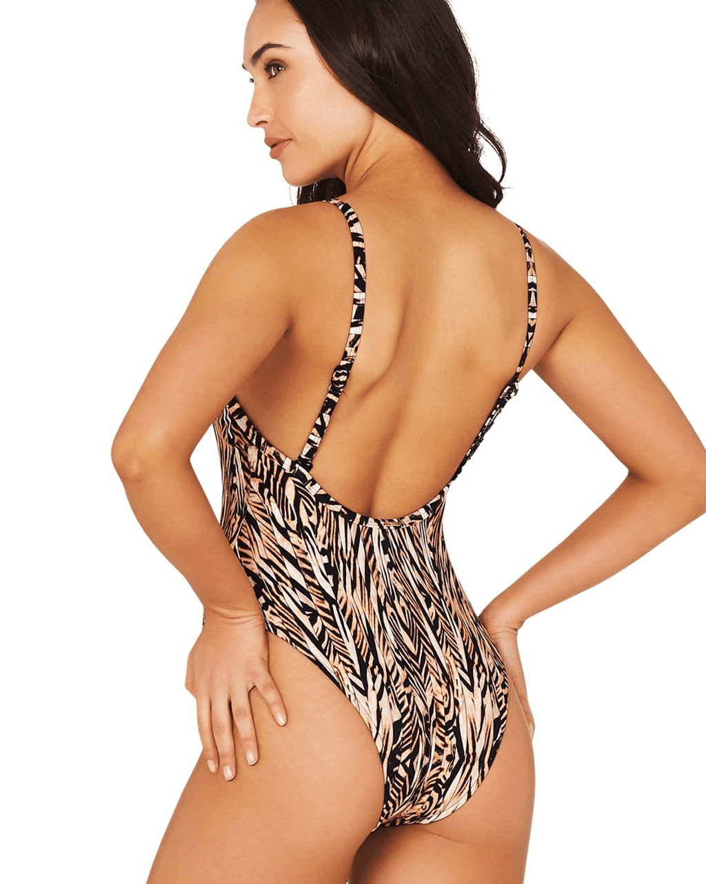 TIGRESS 80s ONE PIECE SWIMSUIT