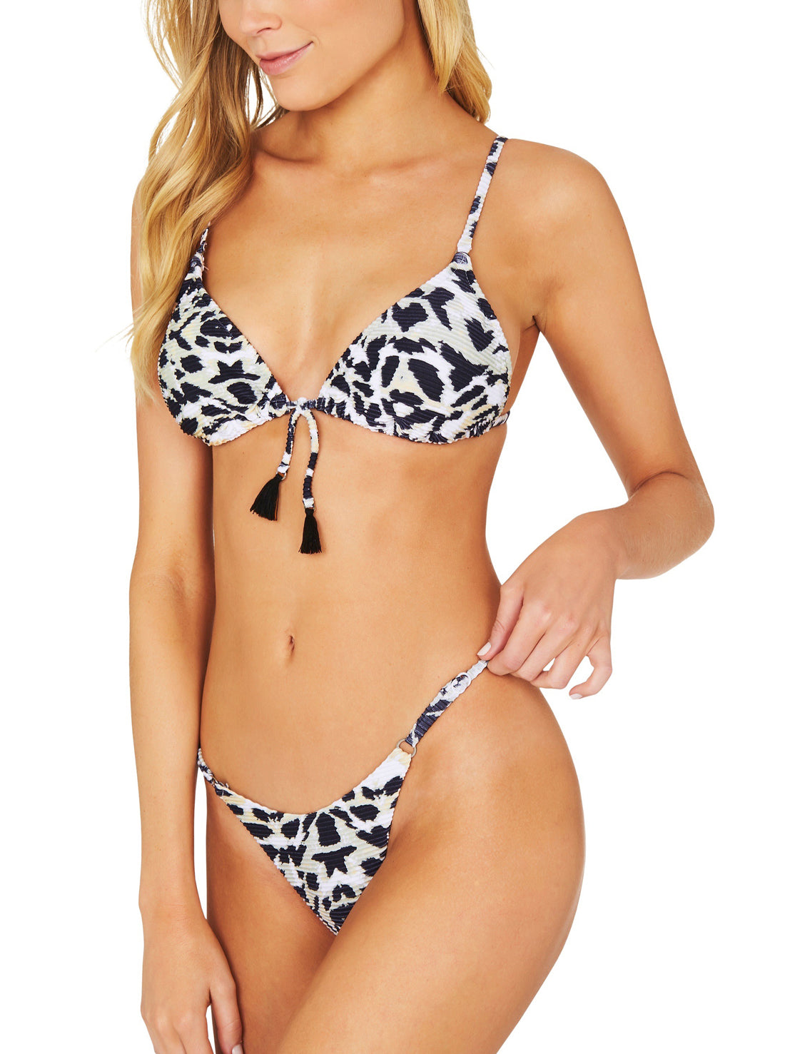 SAFARI HIGH LEG ROULEAU BRAZILIAN BIKINI PANT