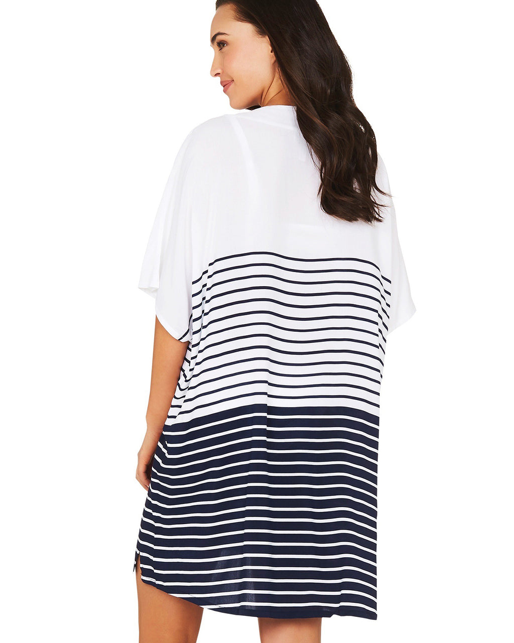 STRIPE PLACEMENT KAFTAN