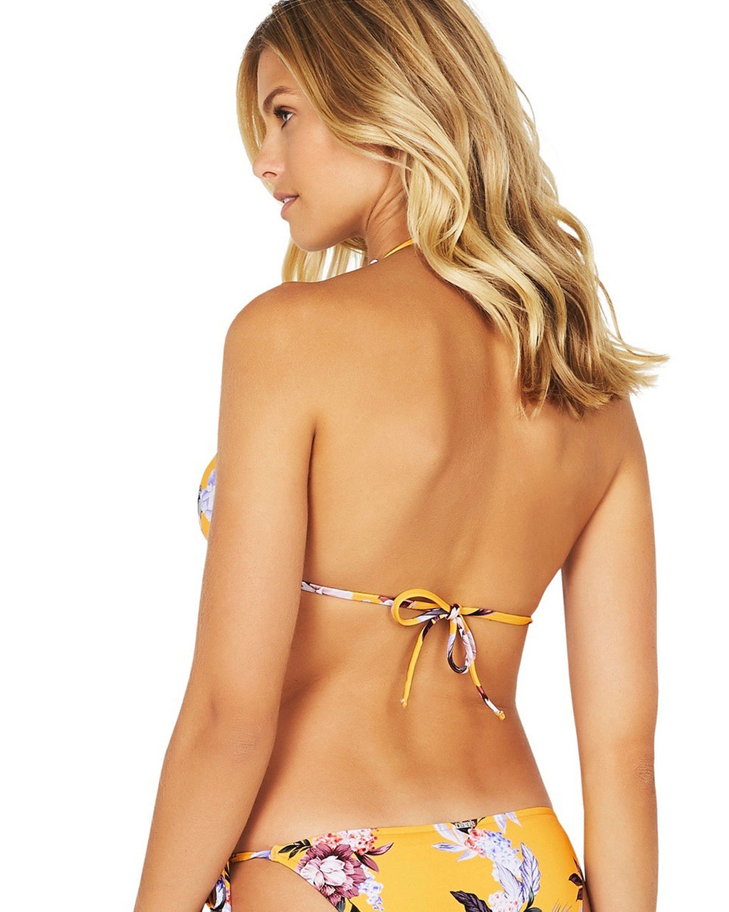 COVENT GARDEN LONGLINE SLIDE TRIANGLE BIKINI TOP