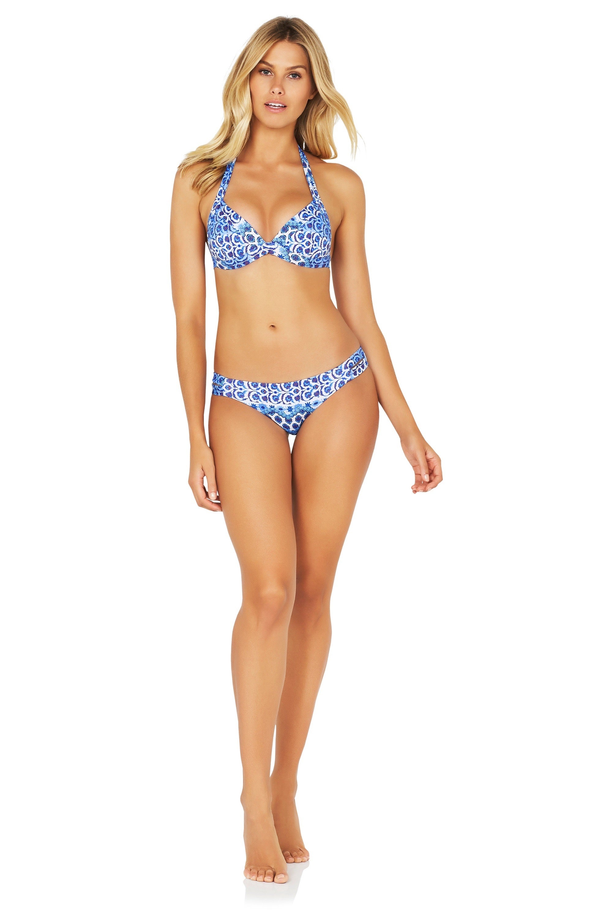 CONSTANTINE MOULDED FIXED TRIANGLE BIKINI TOP