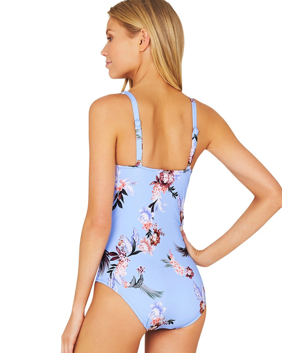 COVENT GARDEN LONGLINE ONE PIECE SWIMSUIT