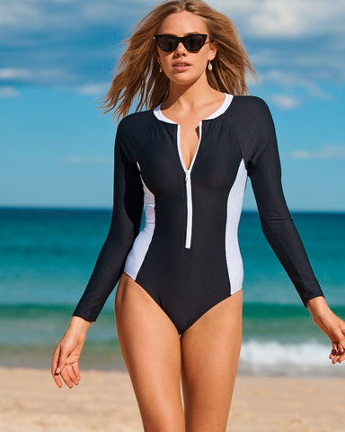 SWAN LAKE SPLICE LONG SLEEVE SURF SUIT