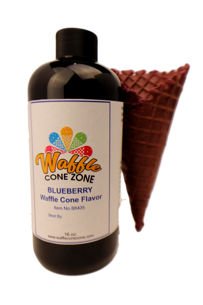 Blueberry Waffle Cone Flavor