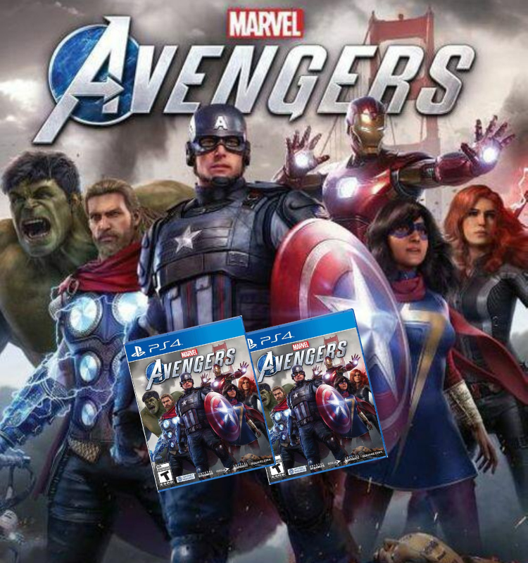 Marvels Avengers PS4 nuevo - Latin gamer shop