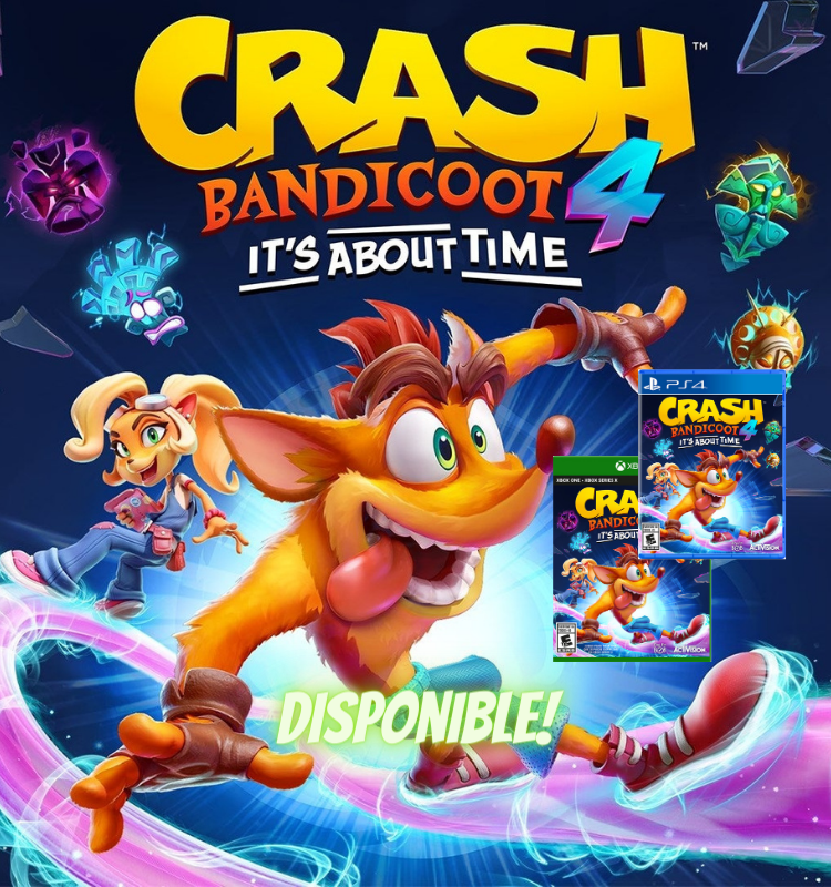 Crash Bandicoot 4 Xbox y PS4 - Latin gamer shop