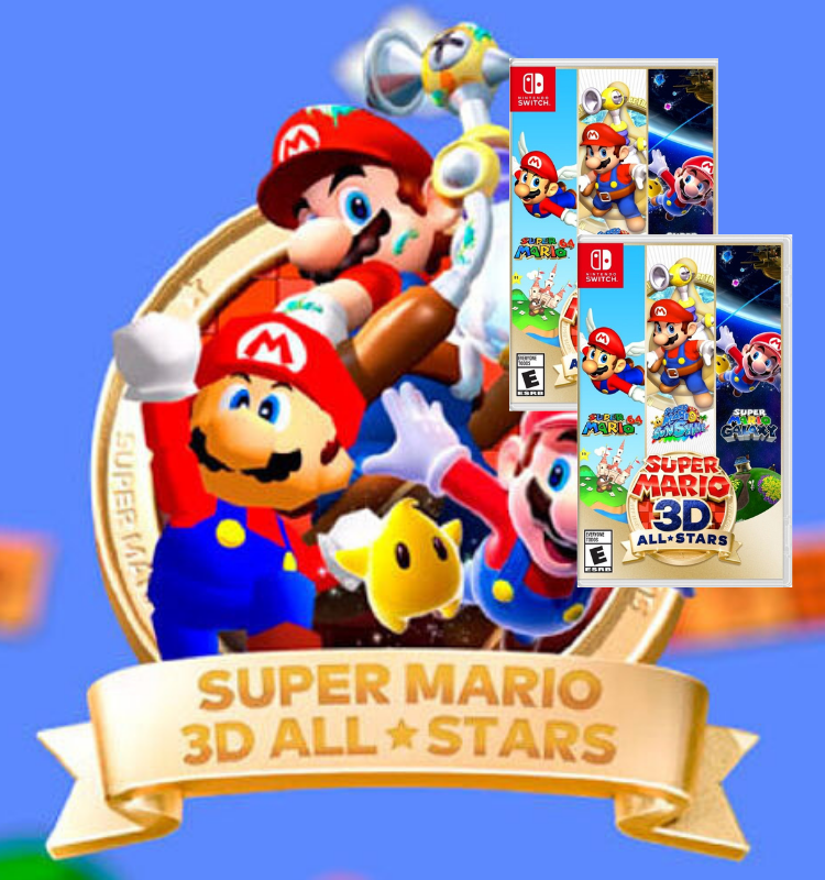 Juego Super Mario 3D all stars - Latin gamer shop