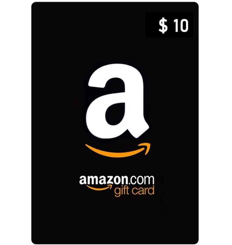 Tarjeta Amazon 10 USD (US) - Latin Gamer Shop