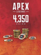 Apex 4350 coins - Latin gamer shop