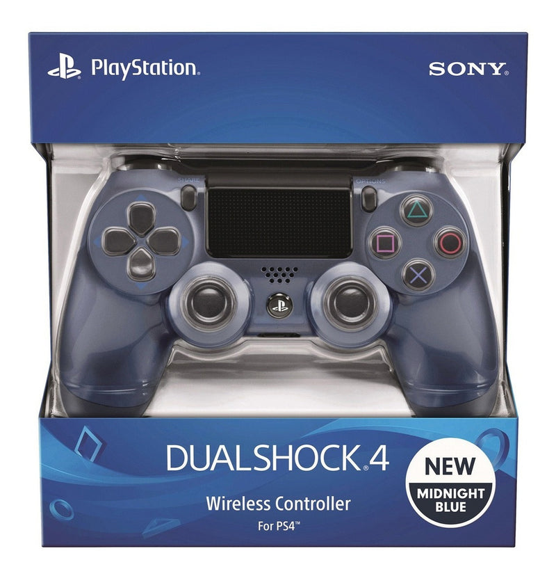 Control PS4 azul medianoche - Latin gamer shop
