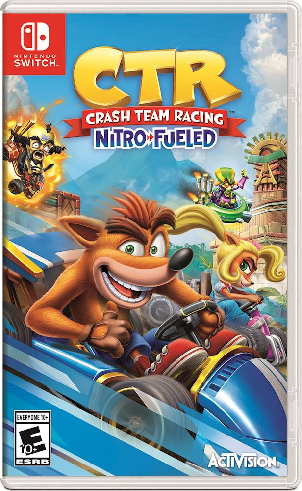 Crash team racing Nitro-fueled Nintendo switch - Latin Gamer Shop