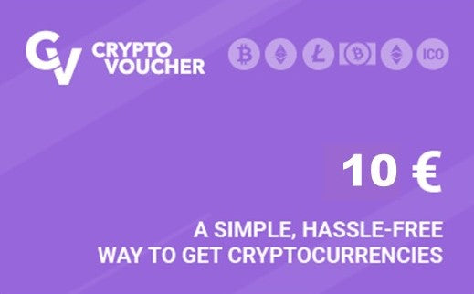 Crypto Voucher 10 EUR - Latin Gamer Shop