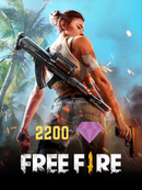 Free fire 2200 Diamantes - Latin Gamer Shop