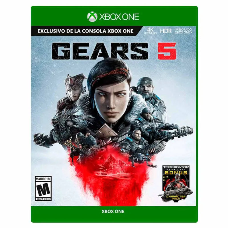Gears 5 Xbox one - Latin Gamer Shop