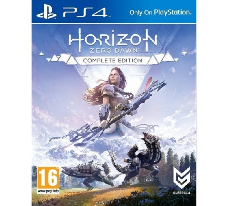 Horizon zero dawn complete edition  PS4 - Latin Gamer Shop