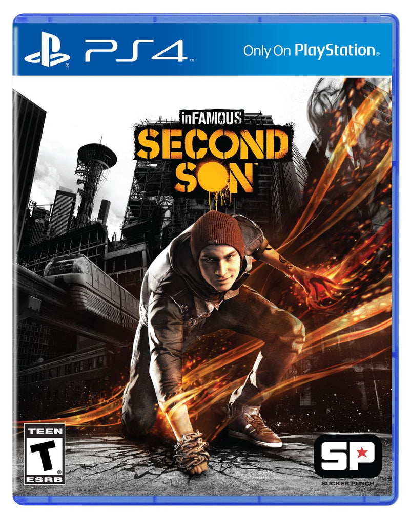 Infamous: second son PS4 - Latin Gamer Shop