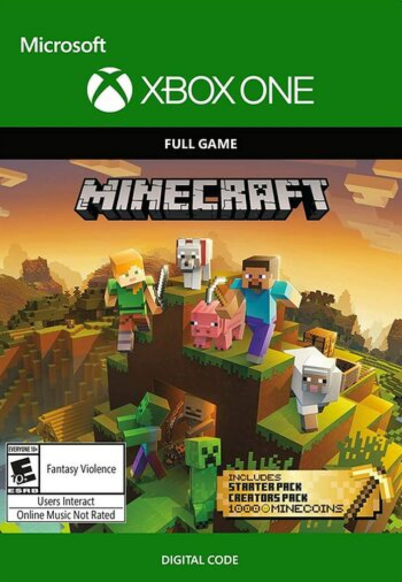 Minecraft Master Collection Xbox one (Digital)