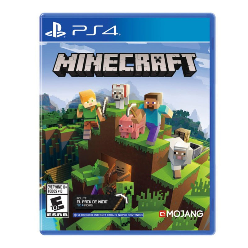 Minecraft PS4 - Latin Gamer Shop