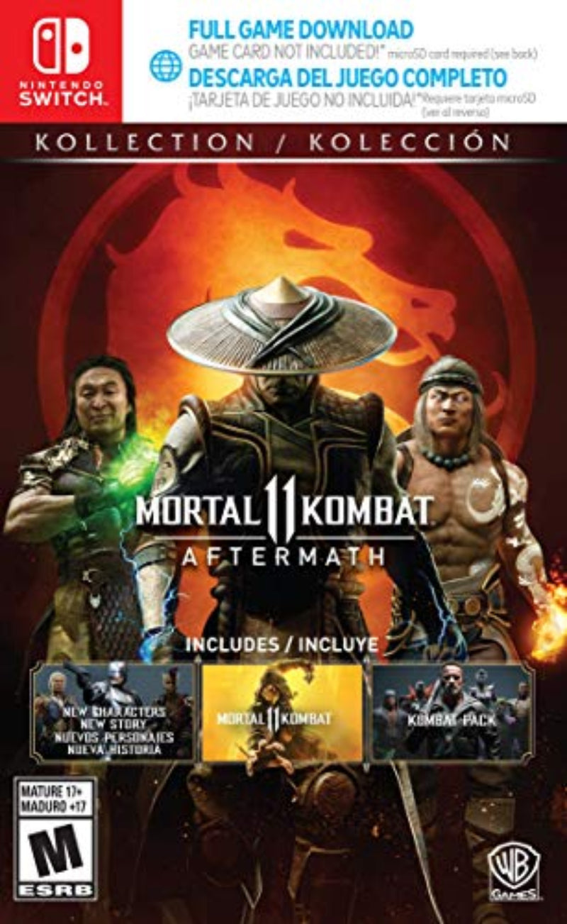 Mortal Kombat 11 Aftermath Nintendo - Latin gamer shop