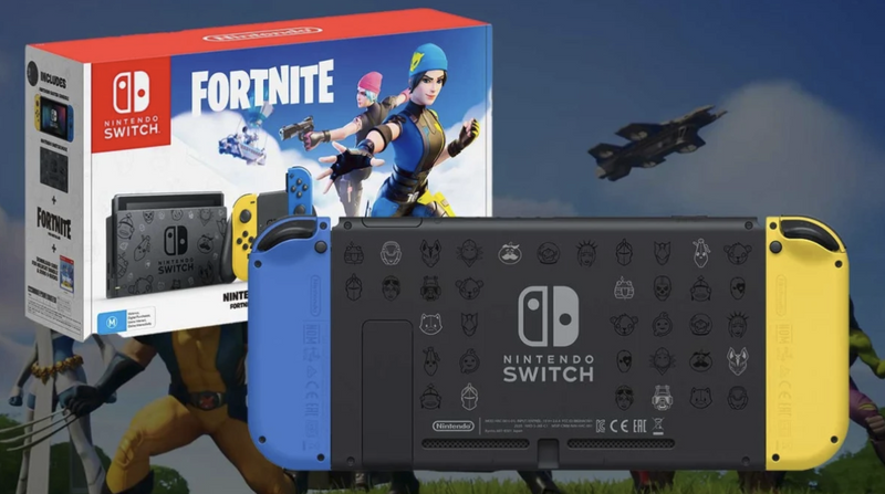 Nintendo Switch Fortnite wildcat edition Colombia - Latin gamer  shop