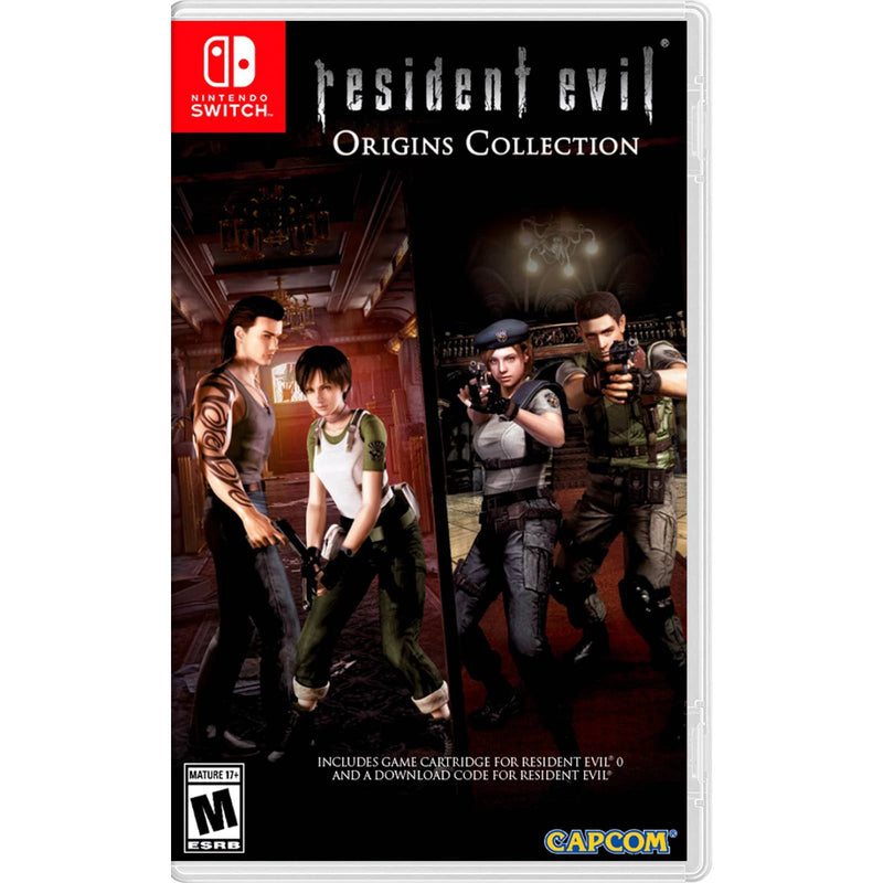 Resident evil origins collection Nintendo switch - Latin Gamer Shop