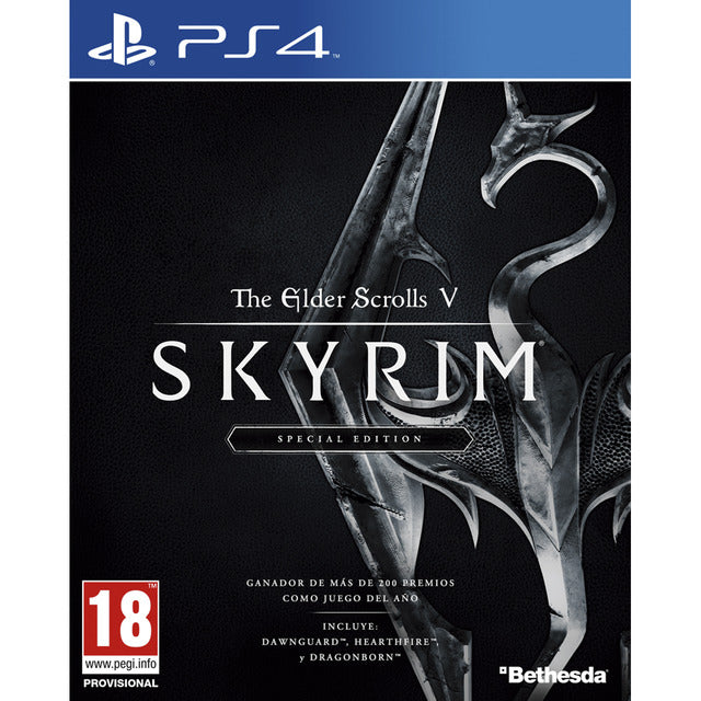 The elder scrolls V Skyrim Special edition PS4 - Latin Gamer Shop