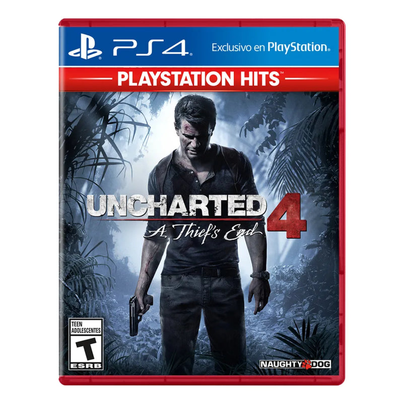 Uncharted 4: A thiefs end PS4 - Latin Gamer Shop