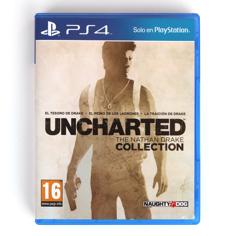 Uncharted The Nathan Drake collection PS4 - Latin Gamer Shop