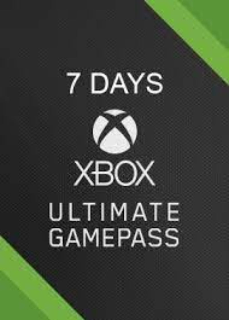 Xbox game pass ultimate 7 dias - latin gamer shop