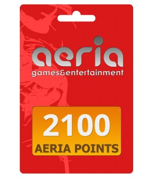 Tarjeta 2100 Aeria points - Latin Gamer Shop