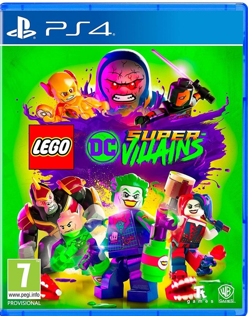 Lego DC Super villanos PS4 - Latin Gamer Shop