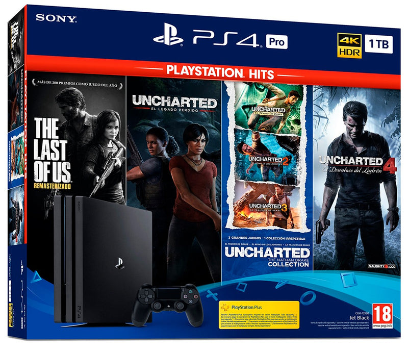 PS4 Pro Playstation Hits