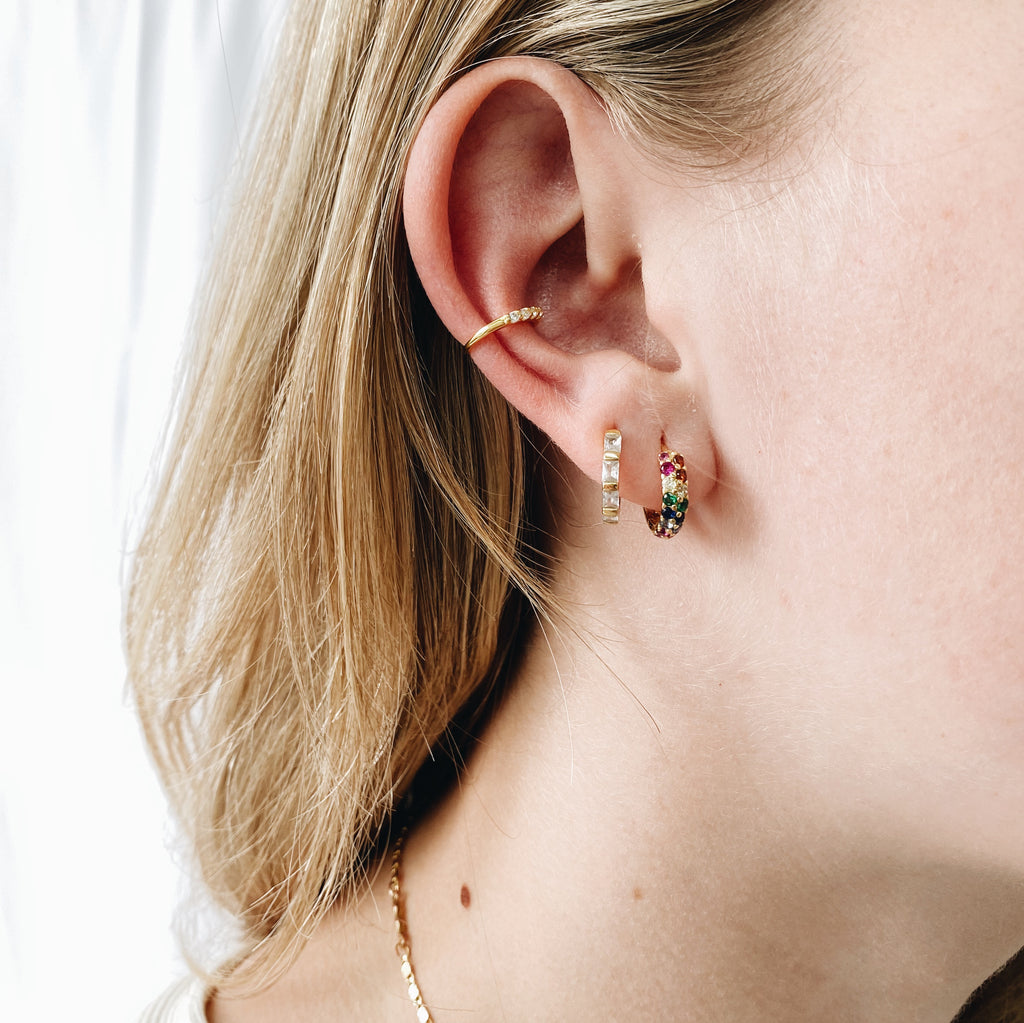 Ear Cuff - Zircon or