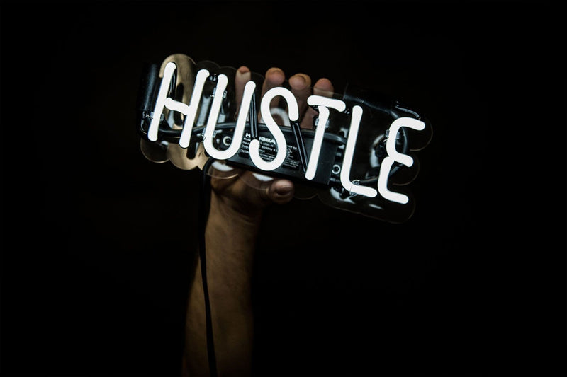 Hustle Neon Sign