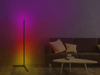 Minimalist color changing LED RGB floor lamp