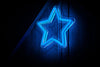 Blue Star Neon Sign