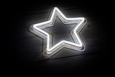 Star LED sign