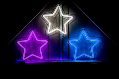 LED Star signs
