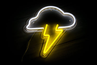 Storm Cloud LED Sign