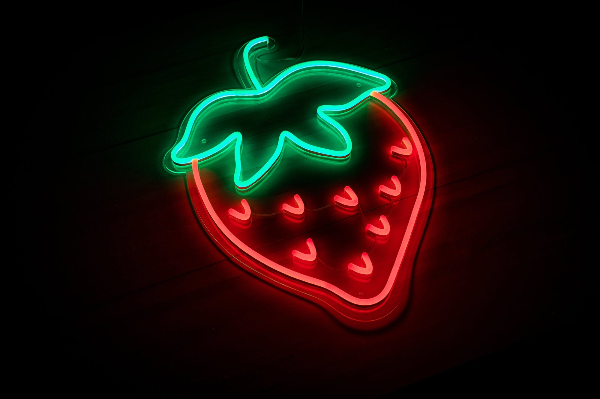 Strawberry LED Neon Signs