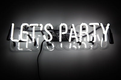 Lets Party Neon Sign