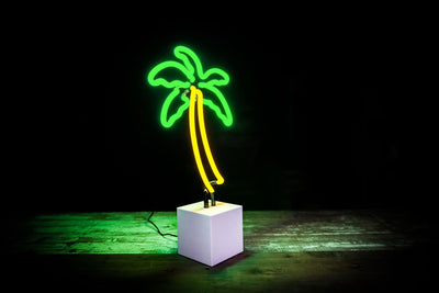 Desktop Palm Tree Neon Sign