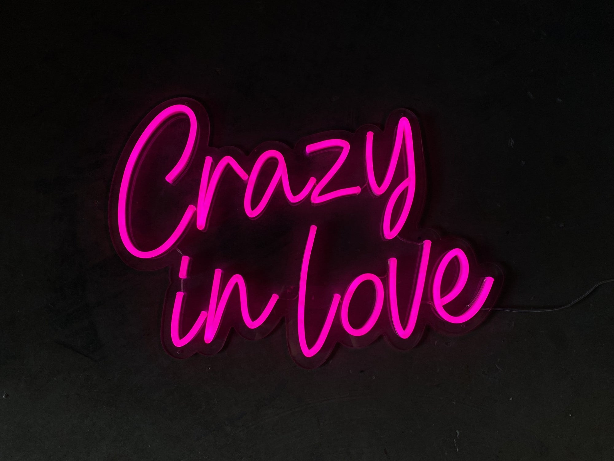 Crazy In Love LED Neon Sign