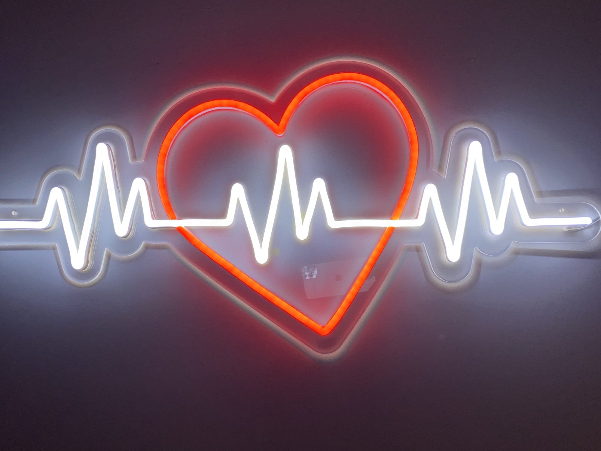 Heartbeat LED Neon Sign