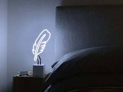 Feather Neon Sign